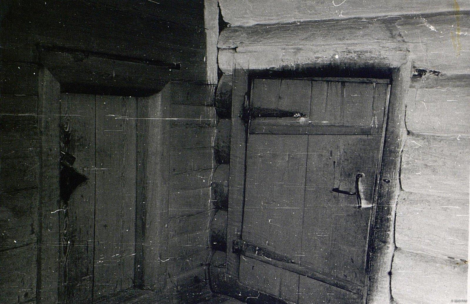 Сени в старинном доме И.А. Муратова