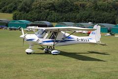 G-WSSX Ikarus Comco C-42 [0608-6837] Popham 120720