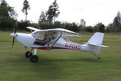 G-FOXO Aeropro Eurofox [LAA 376-15165] Popham 120720