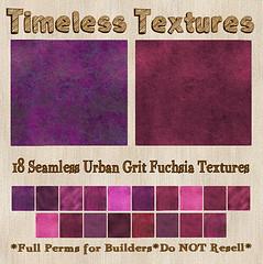TT 18 Seamless Urban Grit Fuchsia Timeless Textures