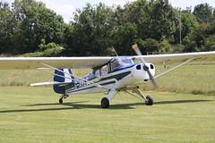 G-ARLG Beagle Auster D.4108 [3606] Popham 120720