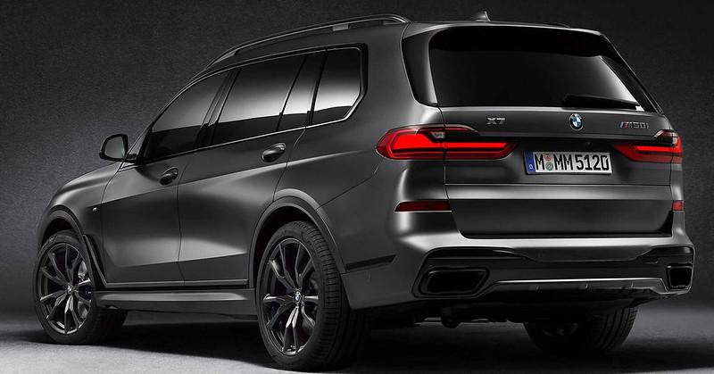 2021-bmw-x7-dark-shadow-edition-rear-three-quarters