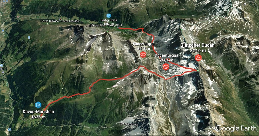 Gletscher Ducan Albula Alpen Switzerland photo 04