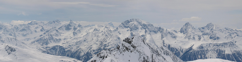 Gletscher Ducan Albula Alpen Switzerland panorama 37