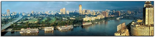 The Nile through Cairo