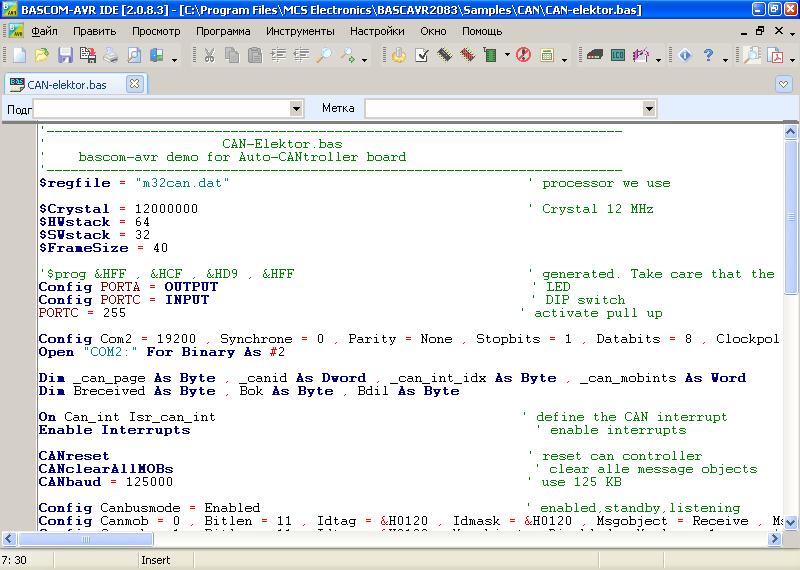 Working with BASCOM-AVR 2.0.8.3 ful crack