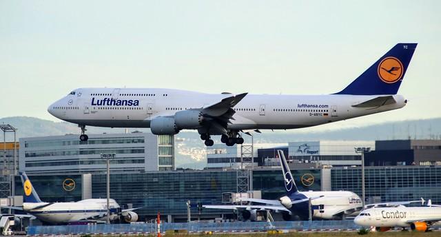 Lufthansa, D-ABYC, MSN 37828, Boeing 747-830, 04.07.2020,  FRA-EDDF, Frankfurt