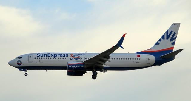 Sun Express, TC-SEI, MSN 61170, Boeing 737-8HC, 04.07.2020,  FRA-EDDF, Frankfurt