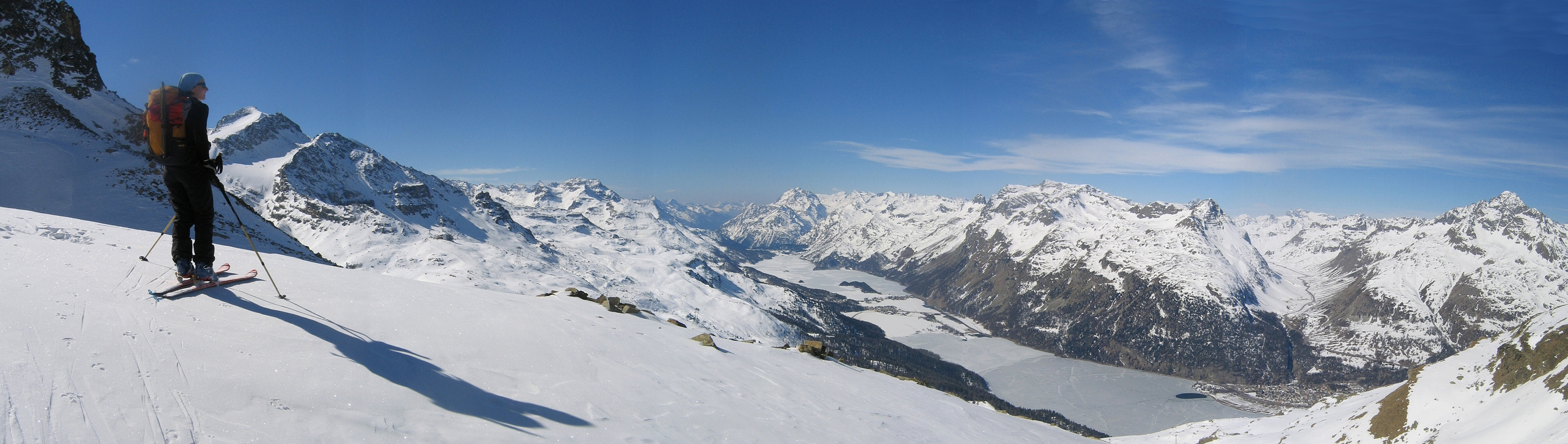 Piz Surlej - Piz San Gian Bernina Switzerland panorama 16
