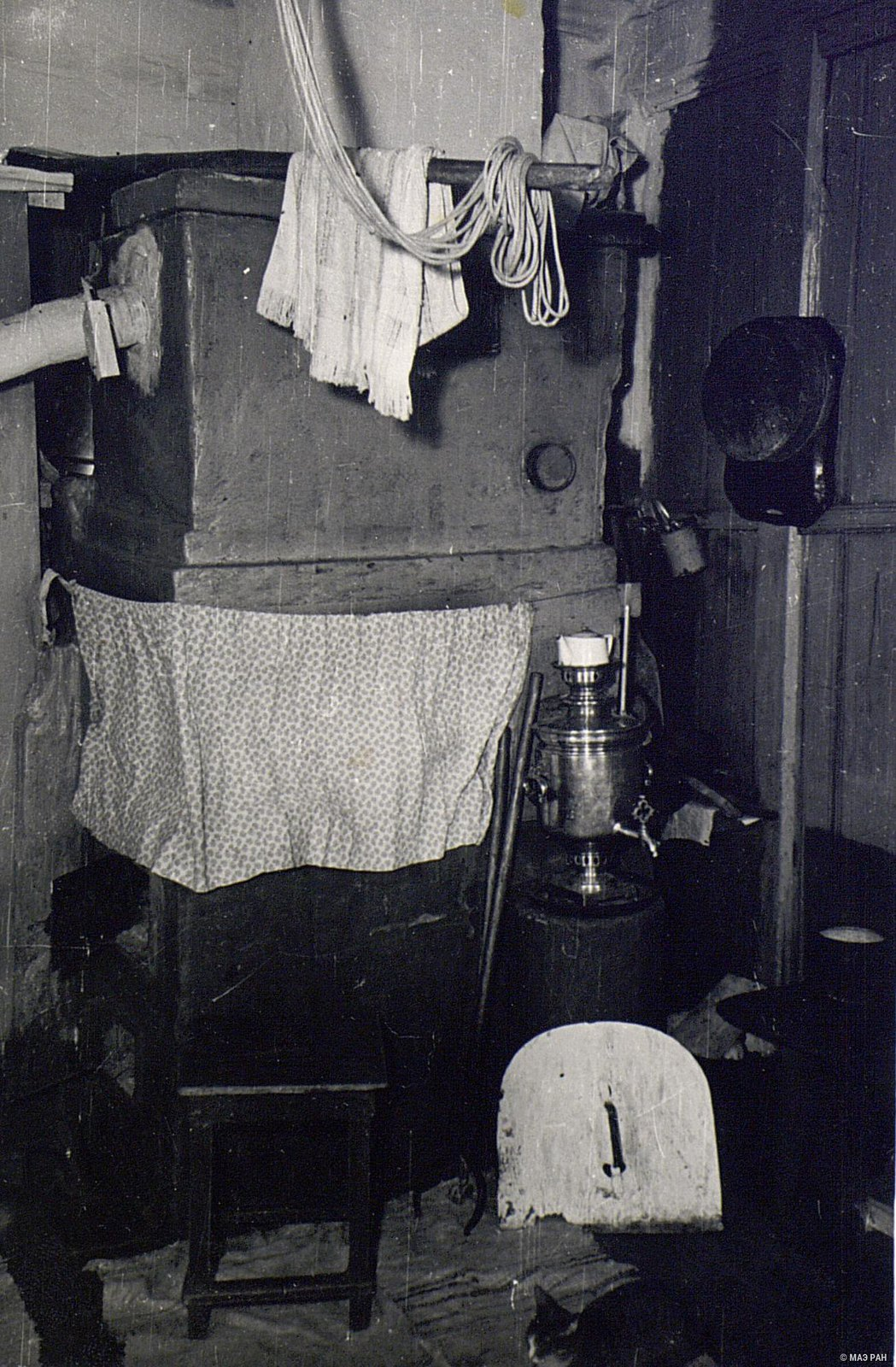 Угол кухни в доме А.Я. Вдовиной