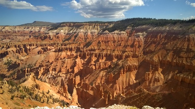 View from Point Supreme Overlook, Cedar Breaks National Monument  8/24/2015