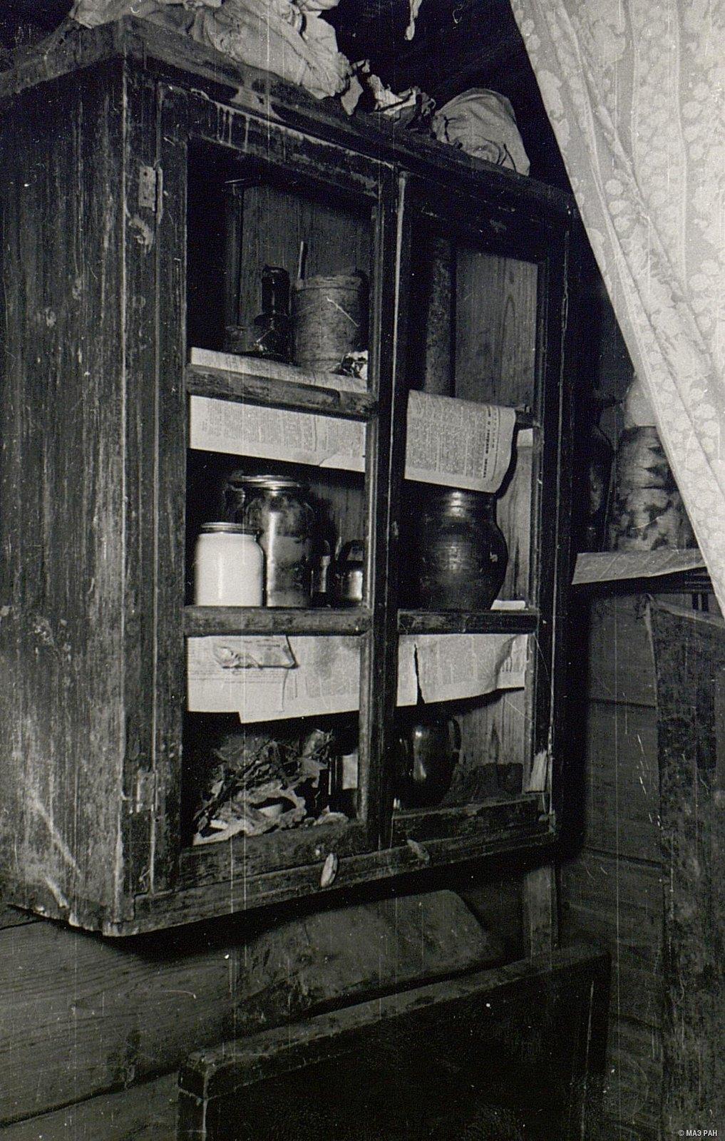 Стенной шкаф в доме А.Я. Вдовиной