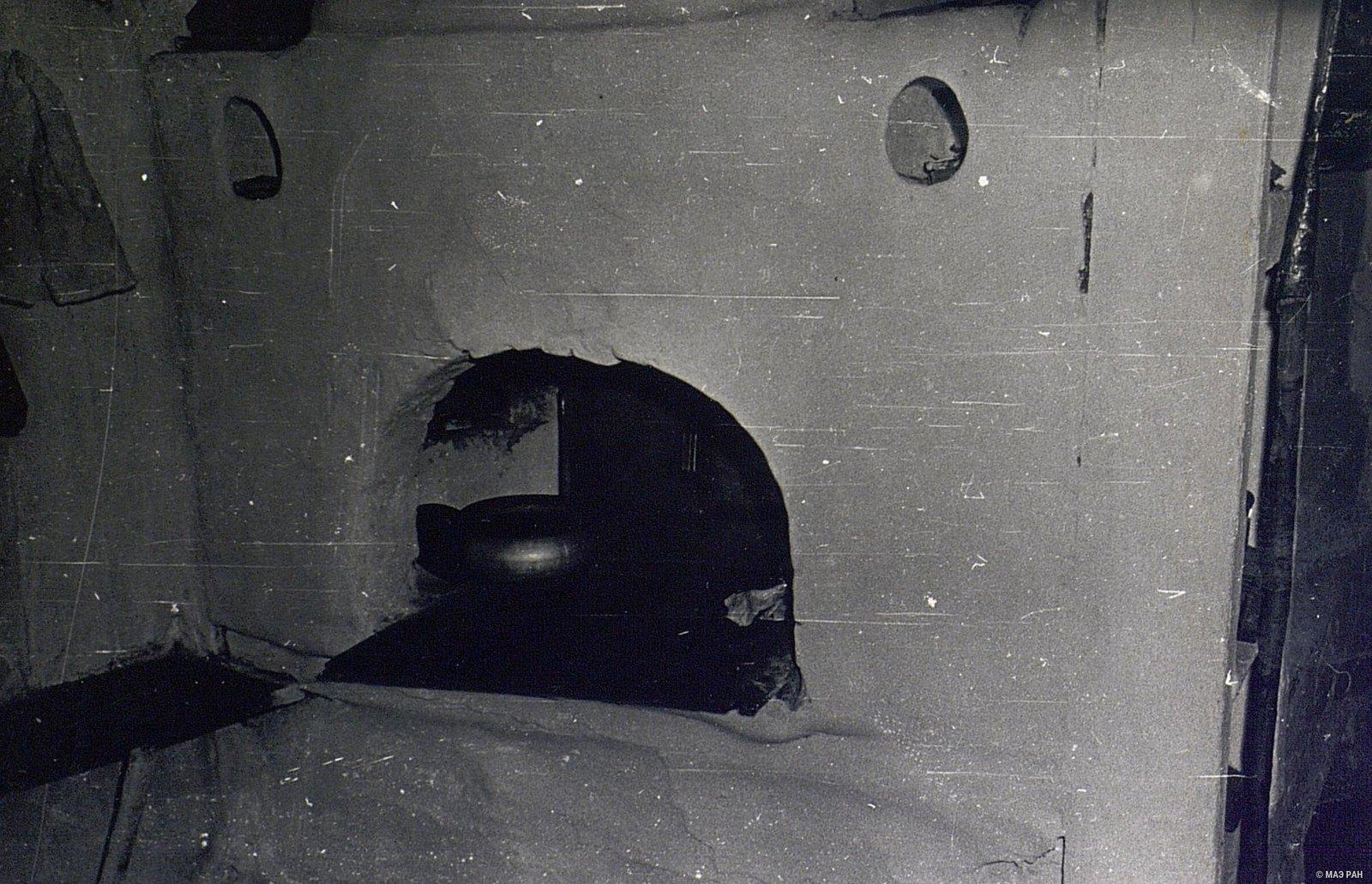 Глинобитная печь в доме А.Я. Вдовиной