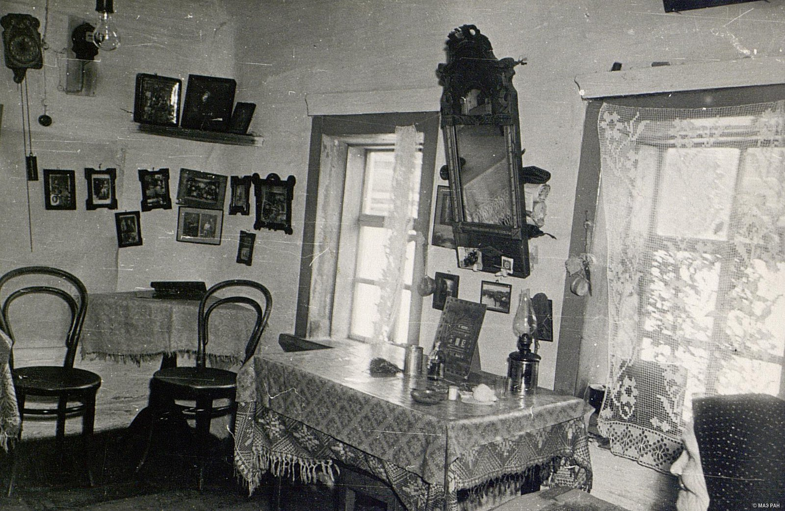 Внутренний вид комнаты в доме А.А. Вдовиной