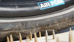 Air Fom offers a solution for deflated tyres