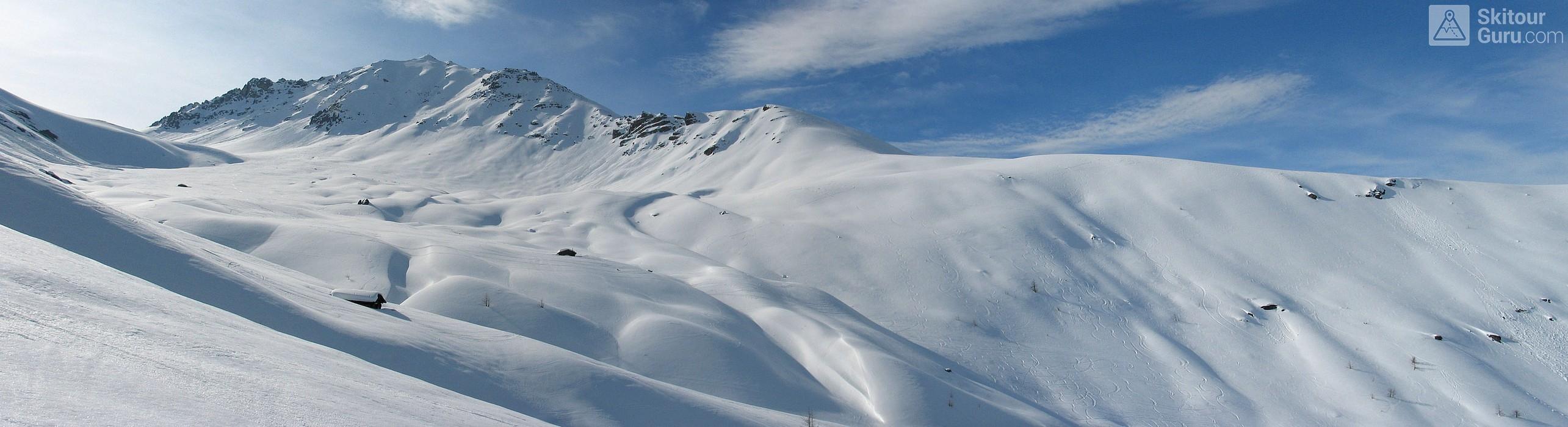 Gletscher Ducan Albula Alpen Switzerland panorama 17