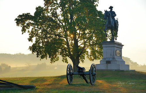 gettysburg pennsylvania roundtop civilwar battlefield history reyes nikon d800 monuments nationalpark sunrise sunset