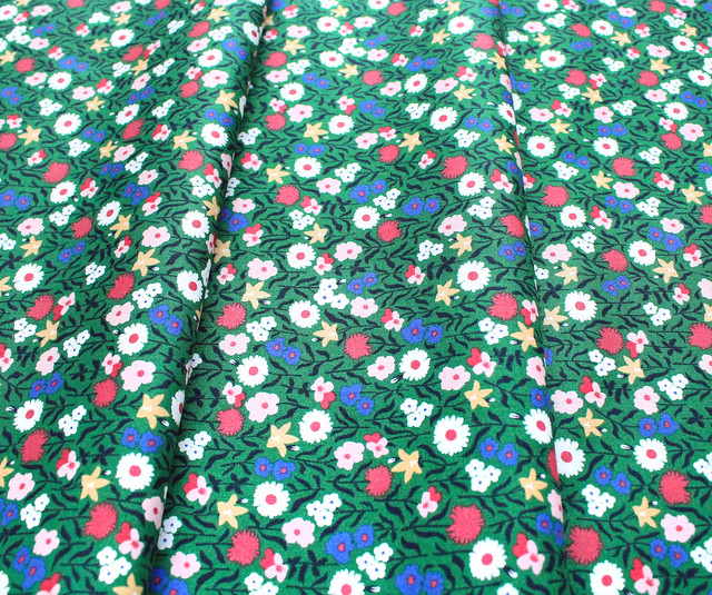 Felicity Fabrics Hemma in Emerald 610044