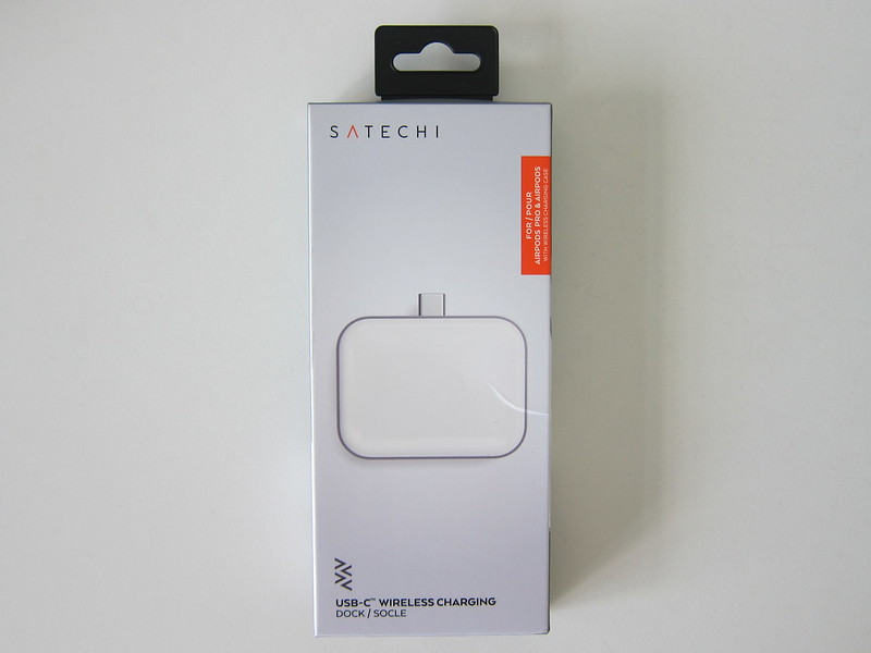 Satechi USB-C Apple AirPods Wireless Charging Dock - Box Front