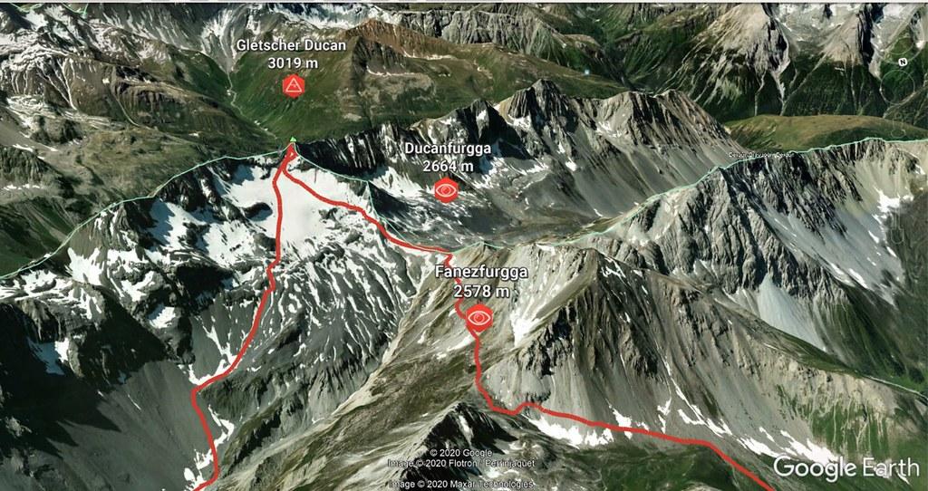 Gletscher Ducan Albula Alpen Switzerland photo 05