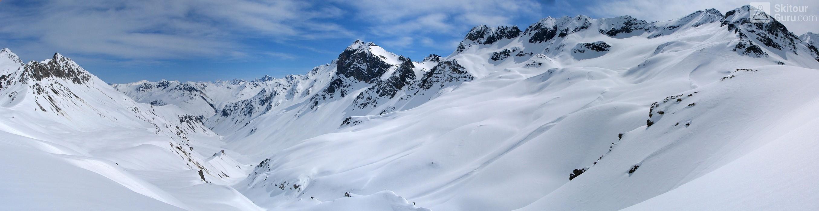 Gletscher Ducan Albula Alpen Switzerland panorama 42