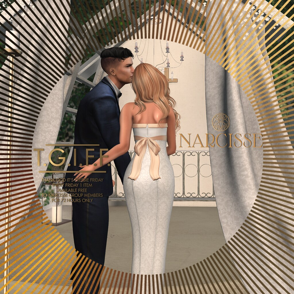 Narcisse – TGI Freebie Friday 24 July – Samantha Gown