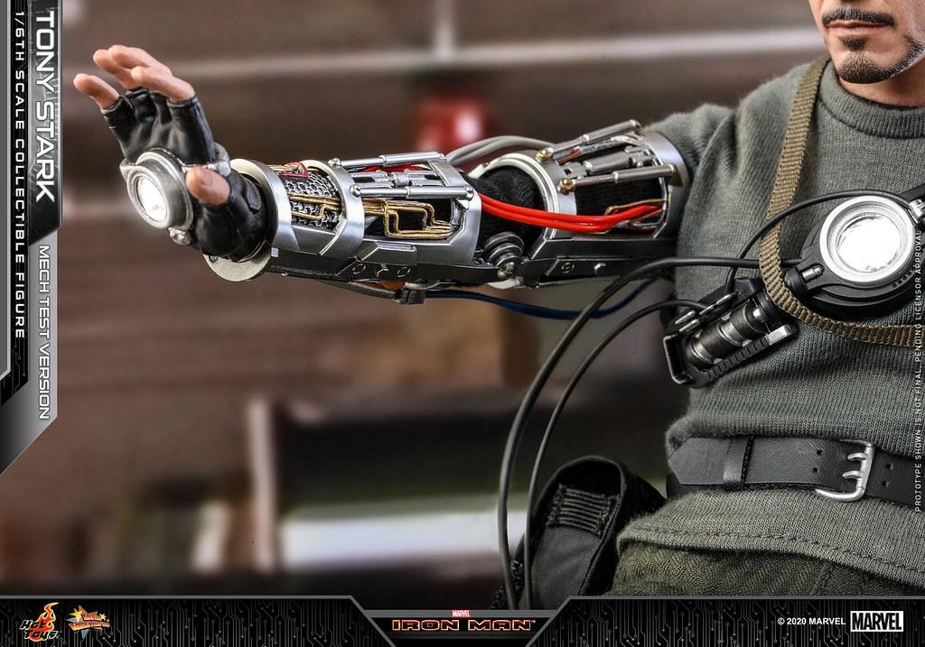 朝向超級英雄之路邁進的經典時刻再現! Hot Toys - MMS581 -《鋼鐵人》「東尼‧史塔克(裝甲測試版本)」(Tony Stark (Mech Test Version))1/6 比例人偶