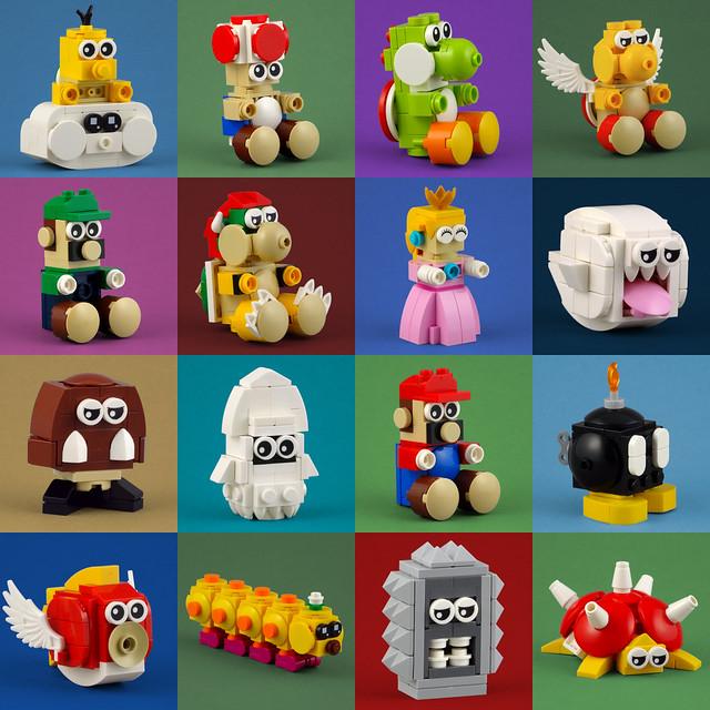 Cuddly Toys: The Mario Collection