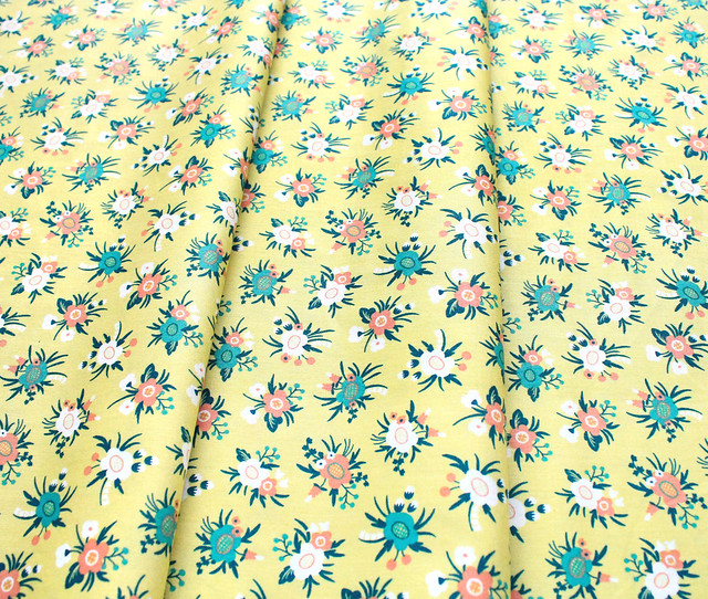 Felicity Fabrics Hemma in Turquoise 610048