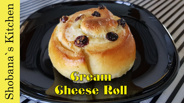 Soft & Fluffy Raisins Cream Cheese Rolls / கிரீம் சீஸ் ரோல் பணிஸ் / Shobanas Kitchen