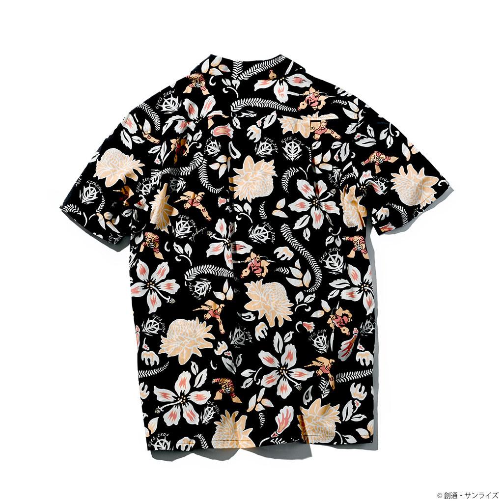充滿夏日風情的鋼彈花襯衫~STRICT-G × PAIKAJI《機動戰士鋼彈》沖繩夏威夷衫系列服飾(機動戦士ガンダム アロハシャツ)