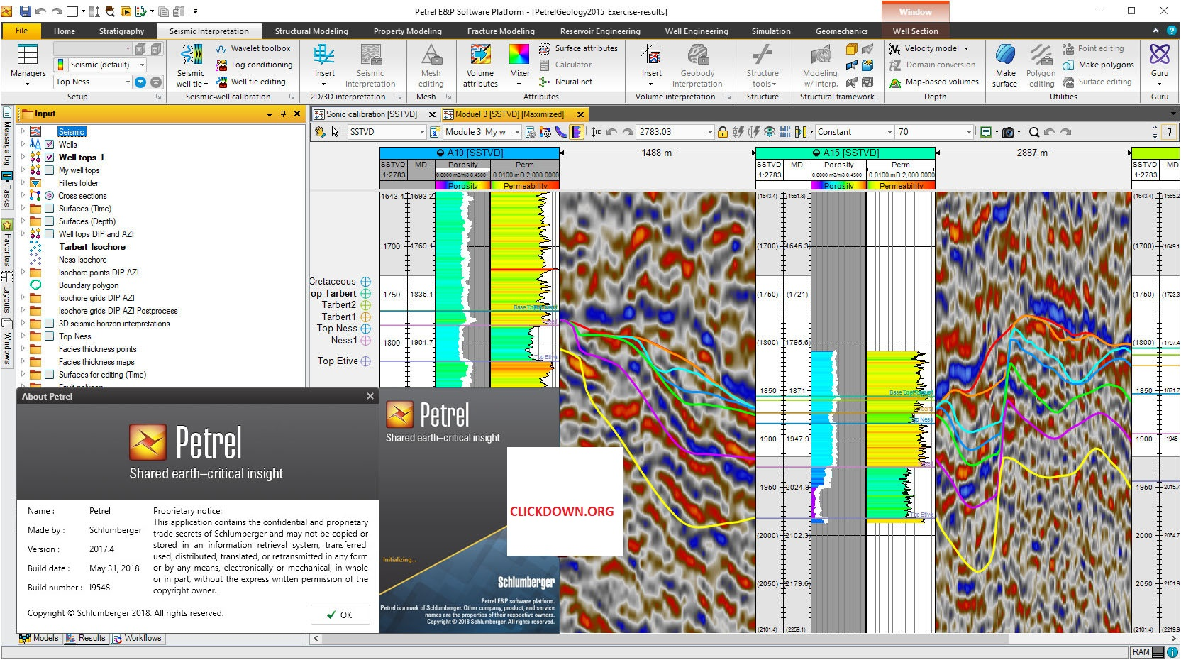 Working with Schlumberger Petrel 2017.4 full license