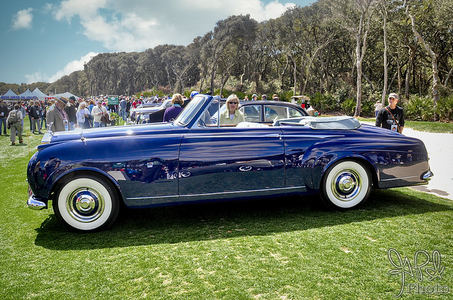 1958 Rolls Royce Silver Cloud I Mulliner 7410 at Amelia Island 2010