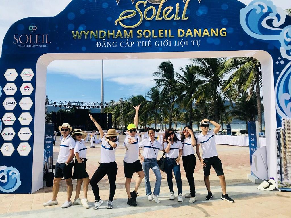 Team ERA Vietnam tham dự kickoff Wyndham Soleil Đà Nẵng 1