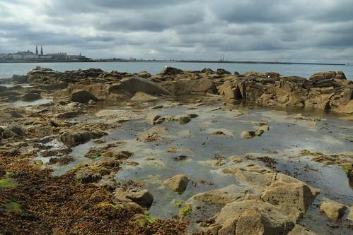 sea irishsea dublin ireland rocks water dunlaoighre daytrip travels lockdown outside clouds seascape nature landscape seaside coastline irishcoast landmarks harbour