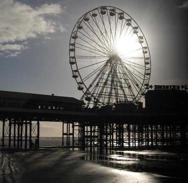 Big Wheel on a Blackpool Piet