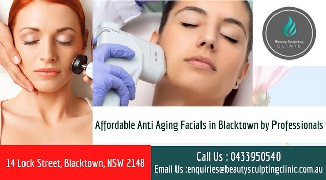 Affordable Anti Aging Facials in Blacktown by Professionals