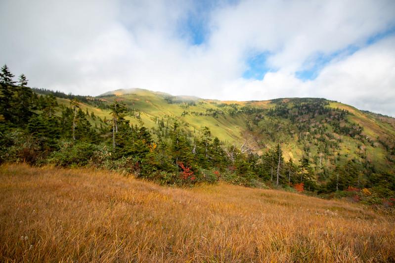 10月の秋田駒ヶ岳