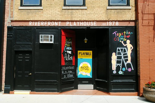 Riverfront Playhouse - Aurora, Illinois | by Cragin Spring