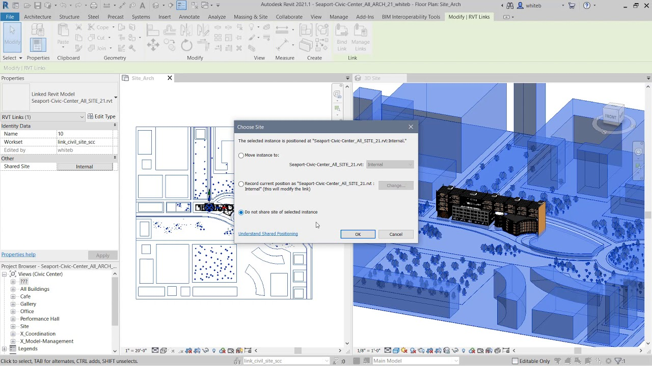 Working with Autodesk Revit 2021.1 full
