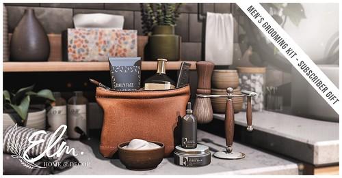 Elm. Subscriber Gift - Men's Grooming Kit