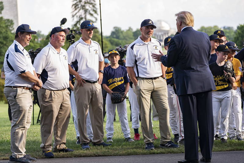 President Trump Hosts the Opening Day of the Little League Baseball Season