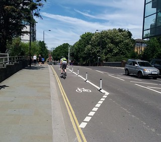 York Way on Canal bridge