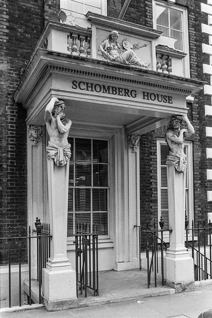 Schomberg House, Pall Mall,St James's, Westminster, 1987 87-6b-36-positive_2400