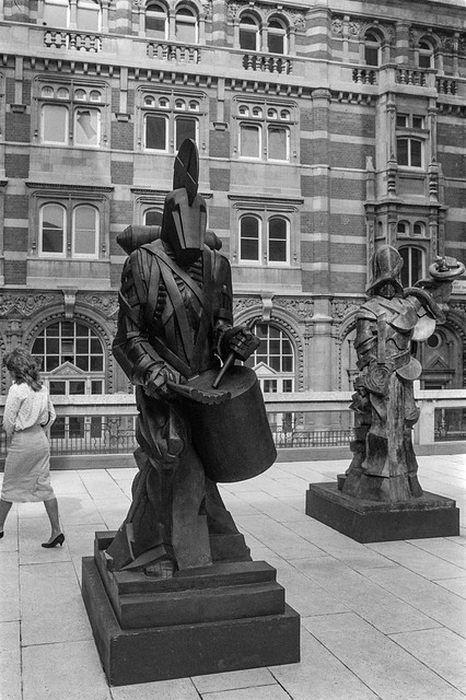 Sculptures, Economist Plaza, St James's St, St James's, Westminster, 1987 87-6a-43-positive_2400
