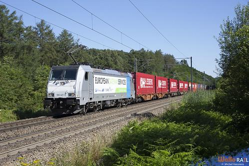 186 421 . RTB Cargo . E 42594 . Moresnet-Chapelle . 23.07.20.