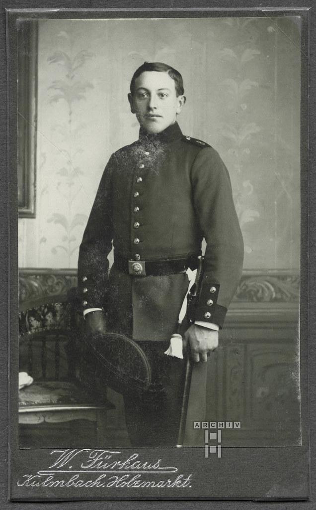 ArchivTappenY13 Album v, Vater, Kulmbacher Junge, 1908