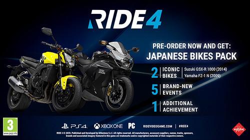 RIDE 4 Pre-order 1