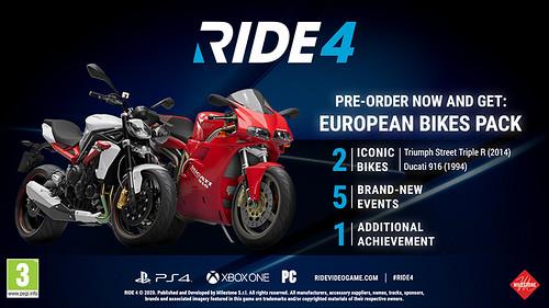 RIDE 4 Pre-order 2
