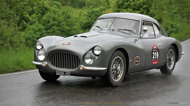 1954 FIAT 8V - Giuliano Bensi (IT) 2009 Mille Miglia (c) 2020 Bernard Egger :: rumoto images 2533 II
